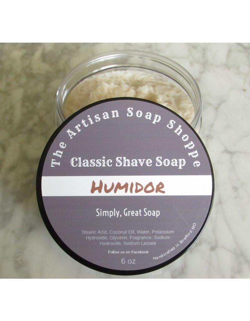 The Artisan Soap Shoppe The Artisan Soap Shoppe - Humidor Shaving Soap