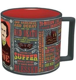 Unemployed Philosophers Guild Edgar Allan Poe Mug