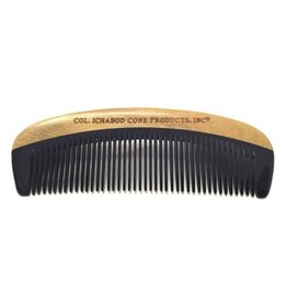Green Sandalwood and Horn Beard Comb