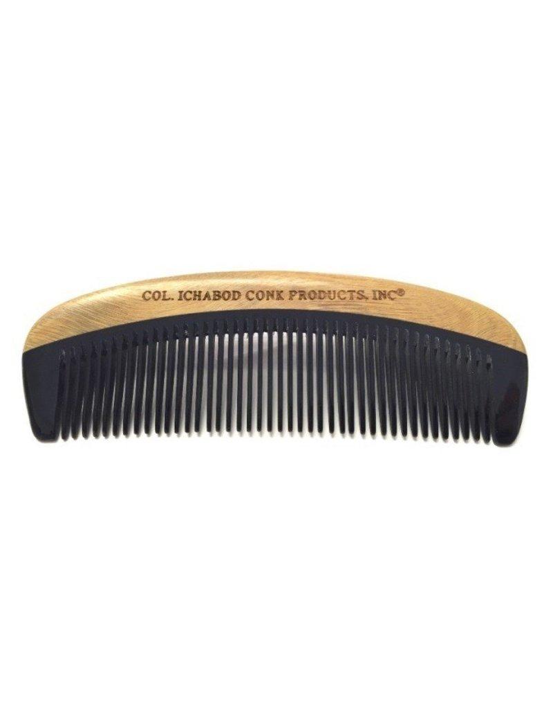 Green Sandalwood and Horn Beard Comb