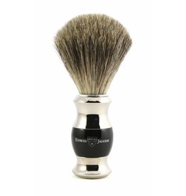 Edwin Jagger Edwin Jagger Chrome Plated Handle Pure Badger Brush