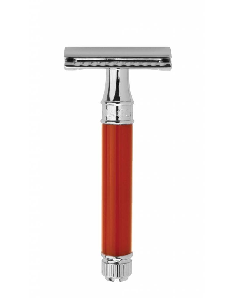 Edwin Jagger Edwin Jagger Red Plain Acrylic Safety Razor