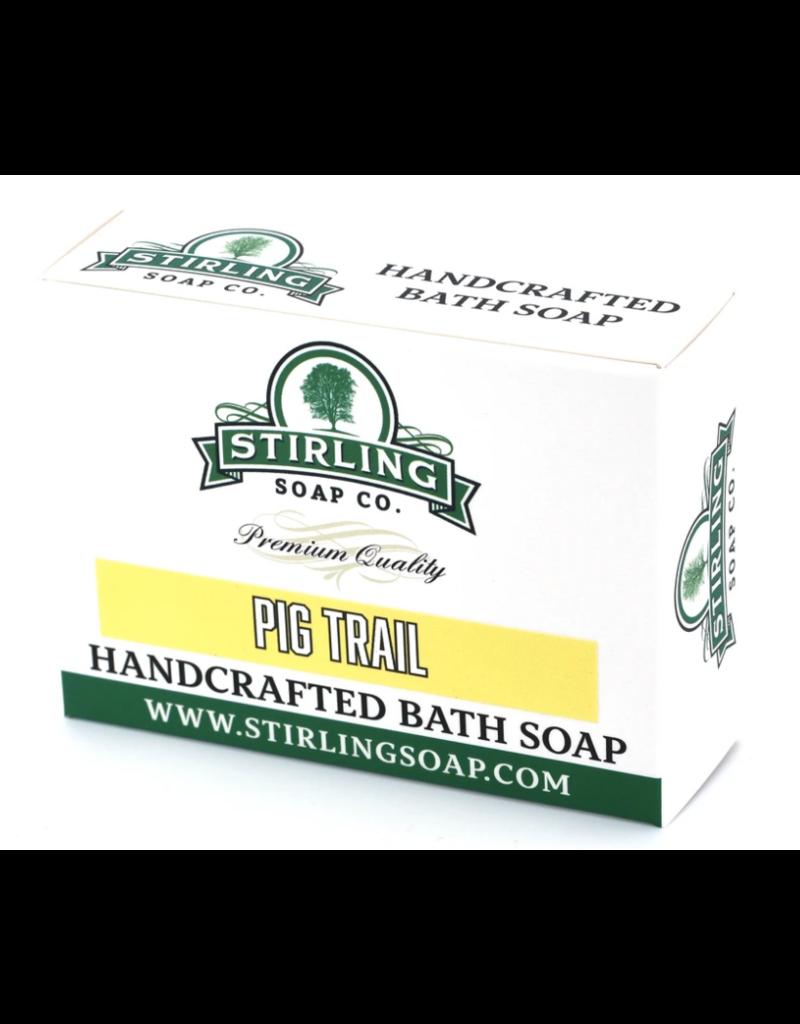 Stirling Soap Co. Stirling Bath Soap - Pig Trail