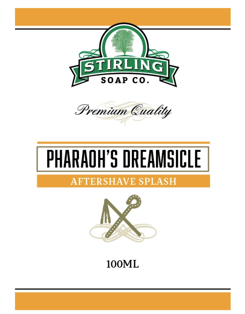 Stirling Soap Co. Stirling Aftershave Splash - Pharaoh's Dreamsicle