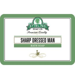 Stirling Soap Co. Stirling Bath Soap - Sharp Dressed Man