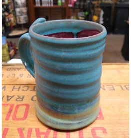 Mudbug Creations Large Mug - Blue & Maroon