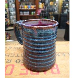 Mudbug Creations Medium Mug - Dark Blue & Maroon