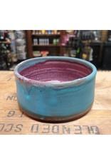 Mudbug Creations Shave Bowl - Teal & Maroon