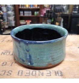 Mudbug Creations Shave Bowl - Seafoam, Blue, Black