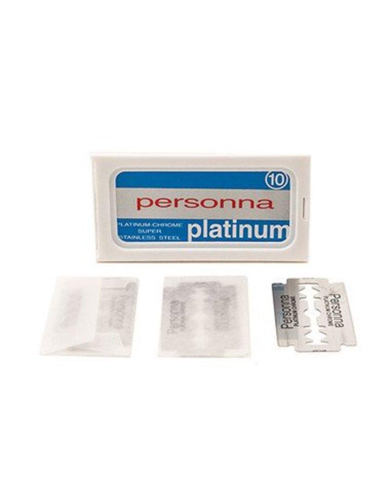 Personna Platinum Double Edge Blades
