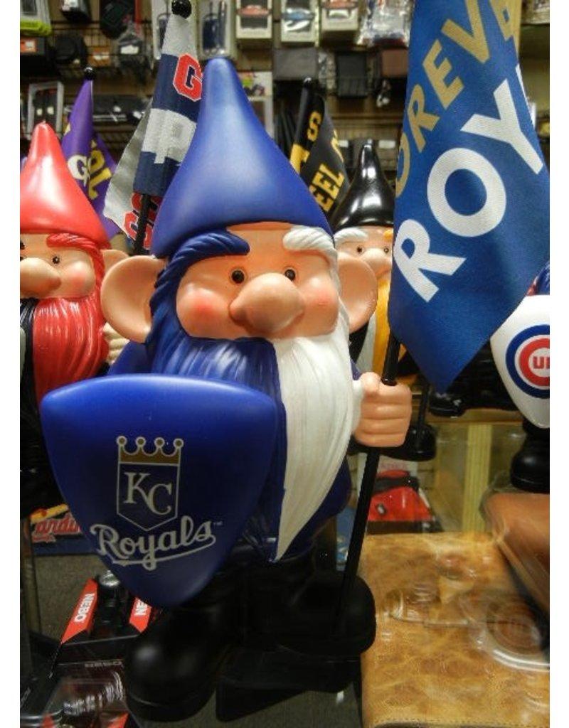 Flag Holder Gnome - Kansas City Royals