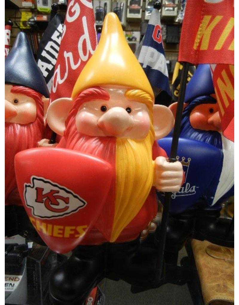 Flag Holder Gnome - Kansas City Chiefs