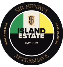 Black Tie Razor Company Sir Henry's Aftershave Splash - Island Estate