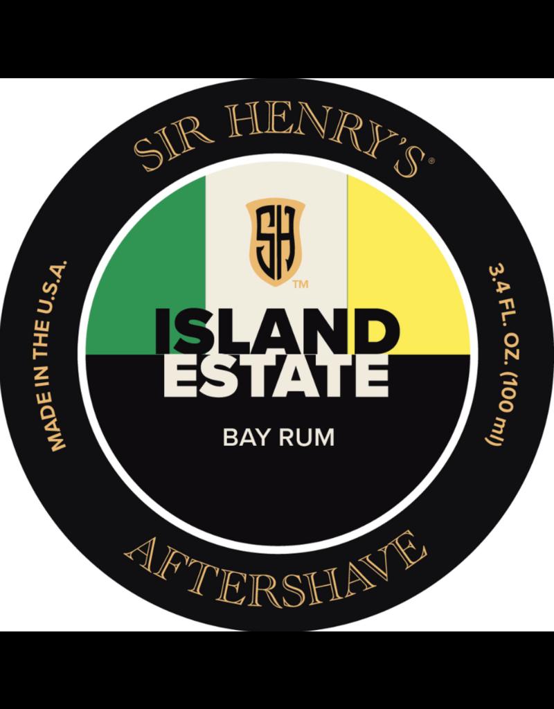 Black Tie Razor Company Sir Henry's Aftershave Splash - Island Estate