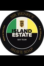 Black Tie Razor Company Sir Henry's Island Estate Shave Soap