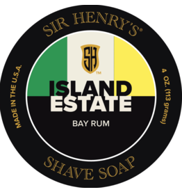 Black Tie Razor Company Sir Henry's Island Estate Shave Soap