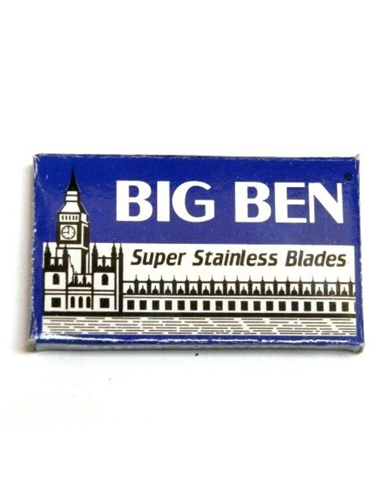 Parker Big Ben Super Stainless Double Edge Blades