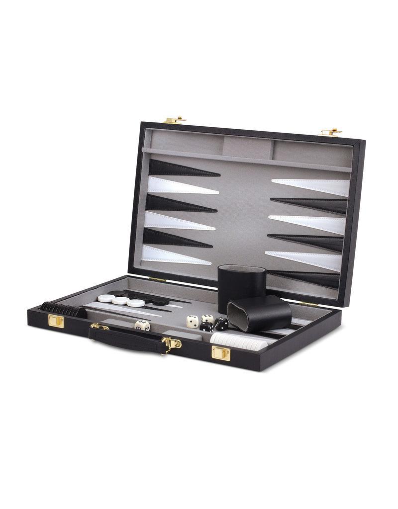 "Wood Expressions Backgammon Set - 14.75"""