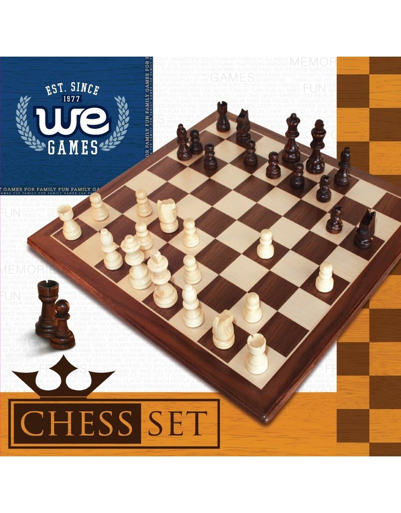 Wood Expressions Chess Set - 12""