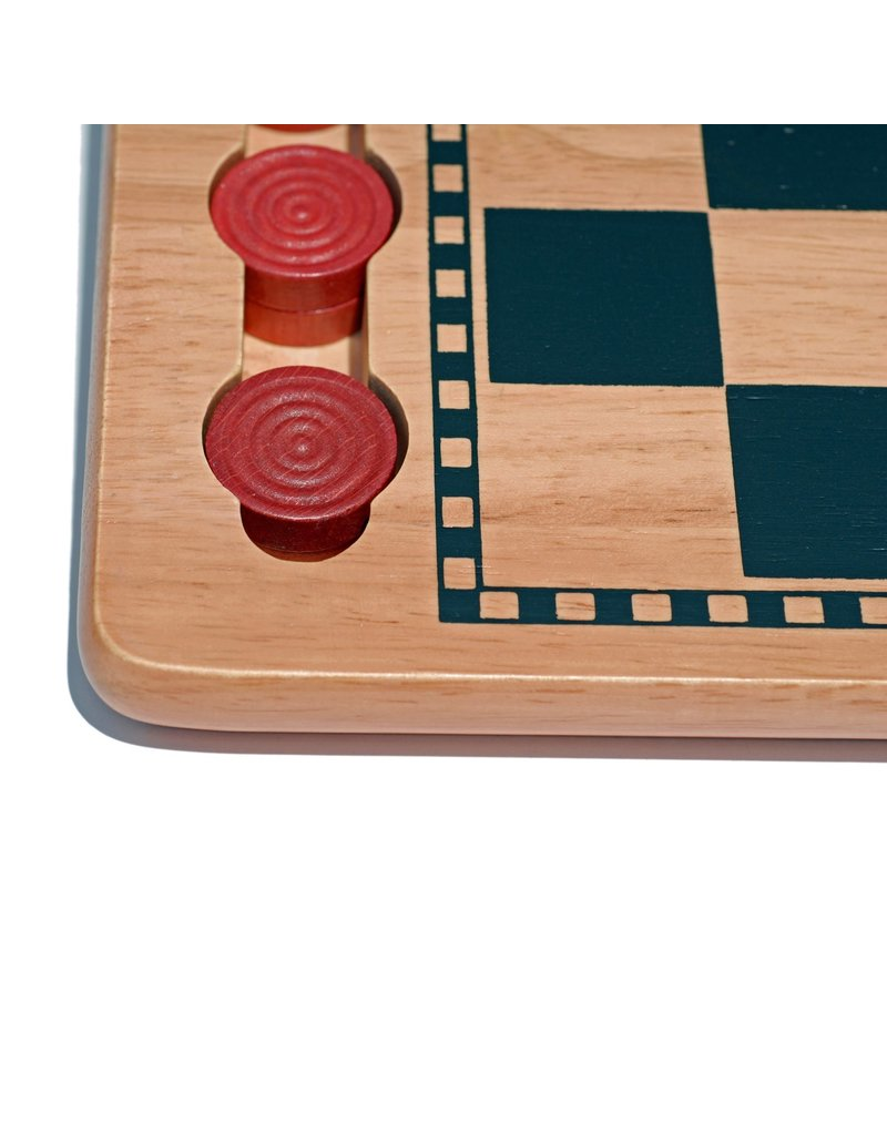 Wood Expressions Checkers - 14.5""