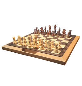 Wood Expressions Folding Chess Set - 16""