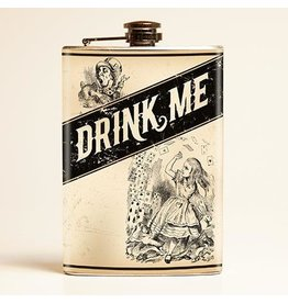 Retro-a-go-go Drink Me Flask - 8 oz