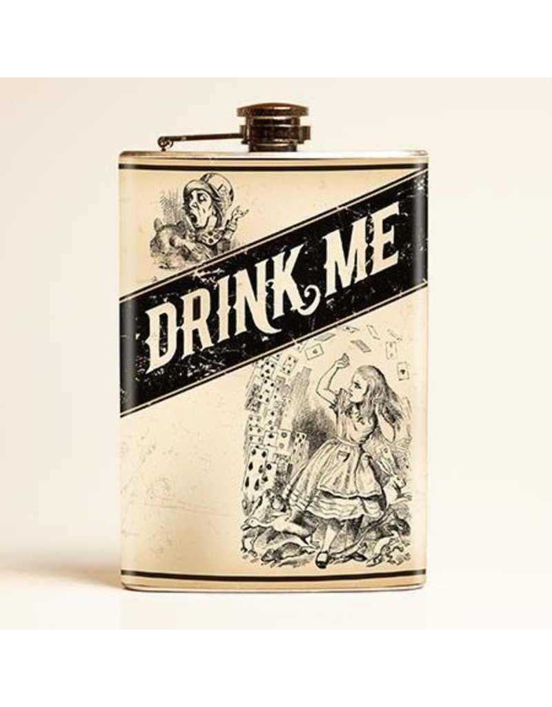 Retro-a-go-go Drink Me Flask