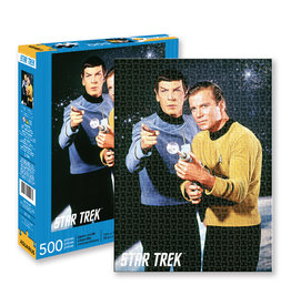 Aquarius Star Trek Captain Kirk & Spock Puzzle - 500 pc