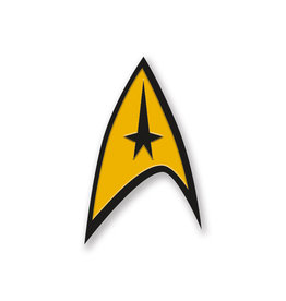 Aquarius Star Trek Command Enamel Pin