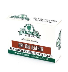 Stirling Soap Co. Stirling Bath Soap - British Leather