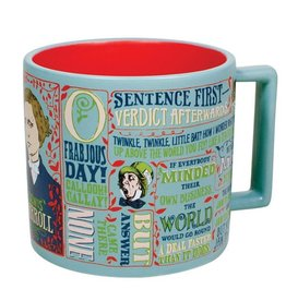 Unemployed Philosophers Guild Lewis Carroll Mug