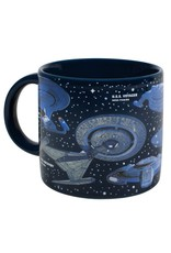 Unemployed Philosophers Guild Star Trek Starships Mug