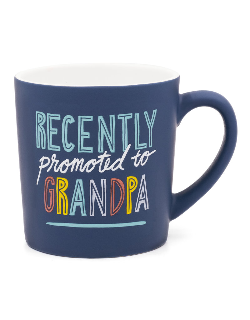 About Face Recently Promoted to Grandpa Mug
