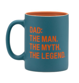 About Face Dad: The Man, The Myth, The Legend Mug