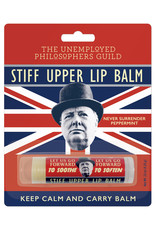 Unemployed Philosophers Guild Stiff Upper Lip Balm - Peppermint