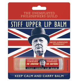 Unemployed Philosophers Guild Stiff Upper Lip Balm - Peppermint