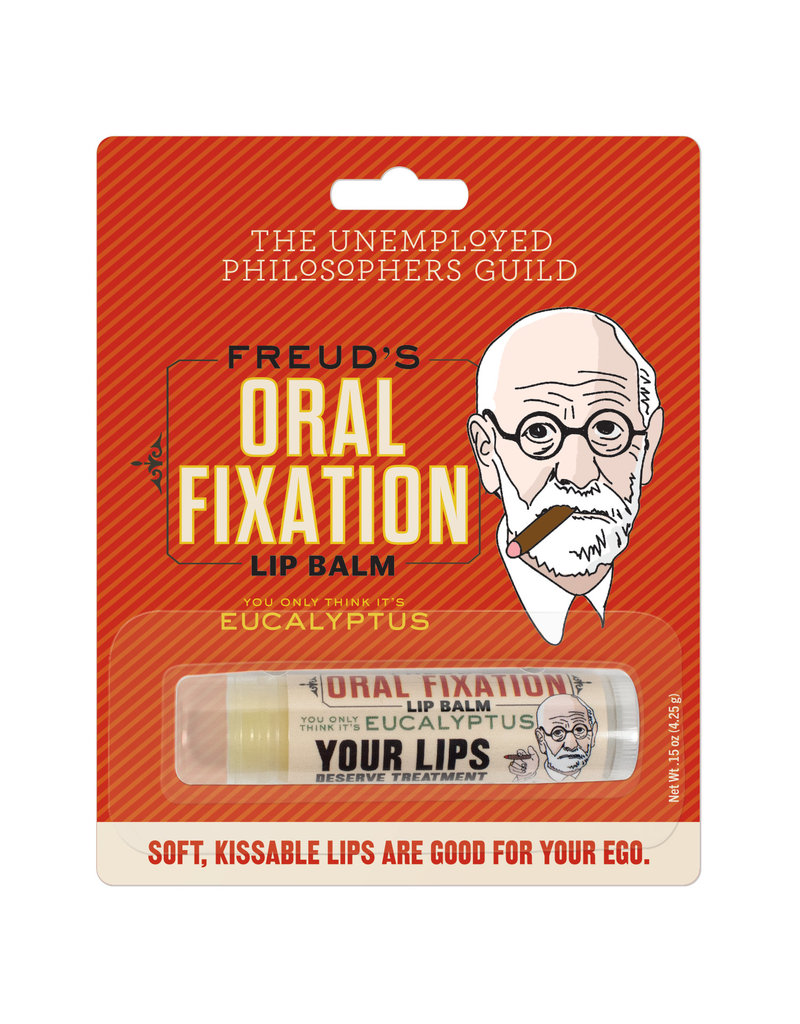 Unemployed Philosophers Guild Freud's Oral Fixation Lip Balm