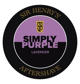 Black Tie Razor Company Sir Henry's Aftershave Splash - Simply Purple
