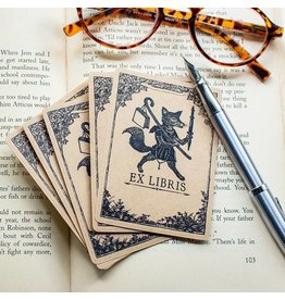 Sunshine & Ravioli Bookplate - Travelling Fox