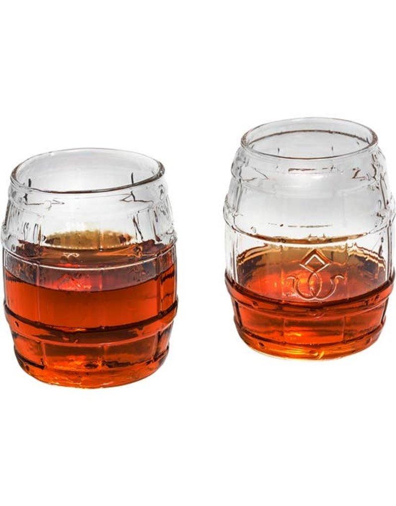Prestige Decanters Prestige Decanter - Bourbon Barrel Whiskey Glass Set