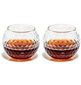 Prestige Decanters Golf Whiskey Glass Set