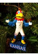 Mascot Statue Ornament - University of Kansas Jayhawks