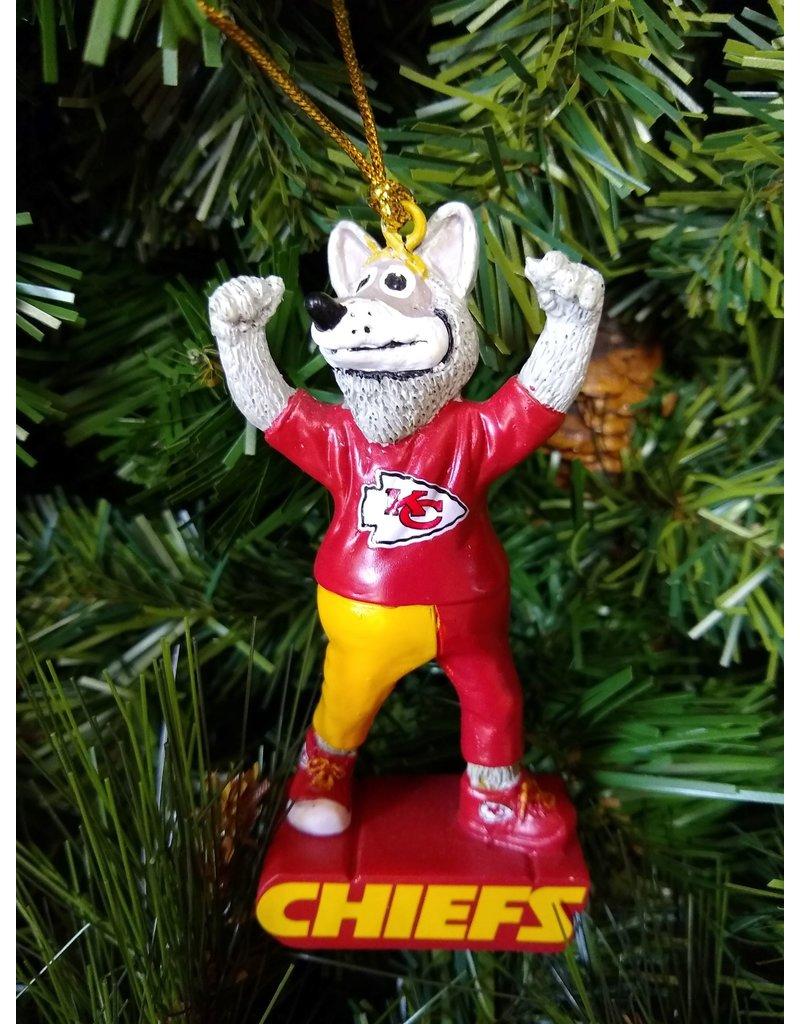 Mascot Statue Ornament - Kansas City Chiefs