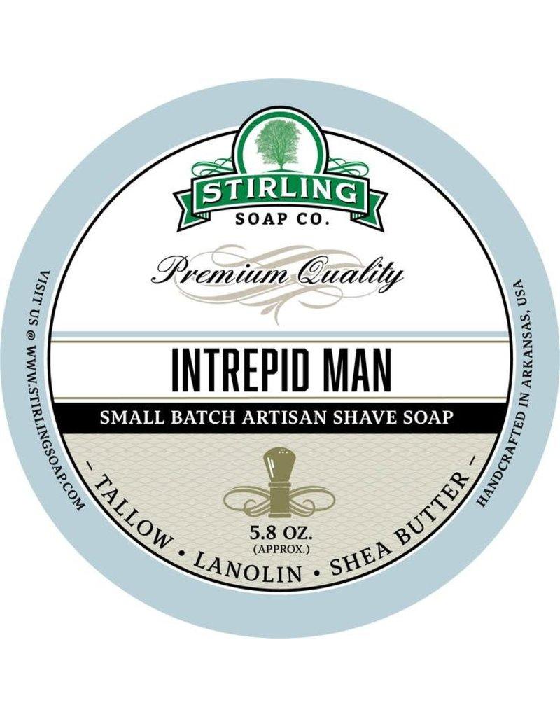Stirling Soap Co. Stirling Shave Soap - Intrepid Man