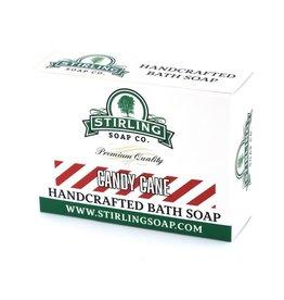 Stirling Soap Co. Stirling Bath Soap - Candy Cane