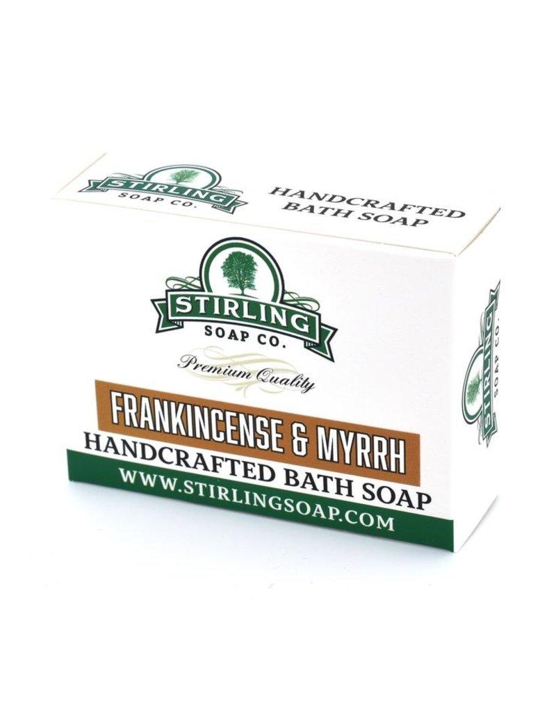 Stirling Soap Co. Stirling Bath Soap - Frankincense & Myrrh