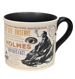 Unemployed Philosophers Guild Sherlock Holmes Mug