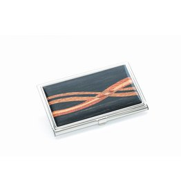 Davin and Kesler Business Card Case - Inlay Ebony