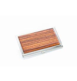 Davin and Kesler Business Card Case - Solid Cocobolo
