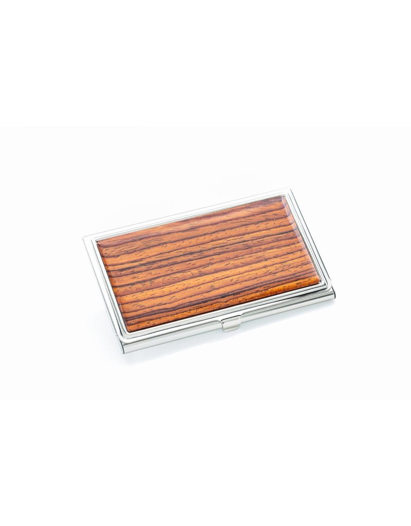 Davin and Kesler Business Card Case - Solid Cocobolo